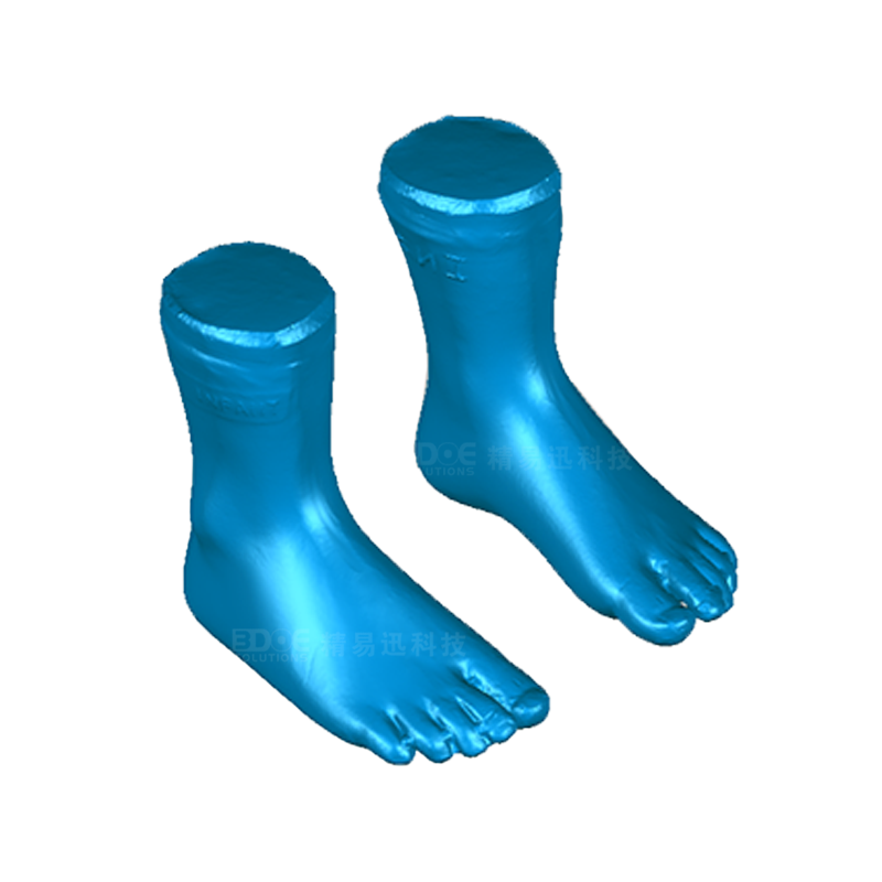 Children's shoes silicone foot model small batch customization-3D scanning